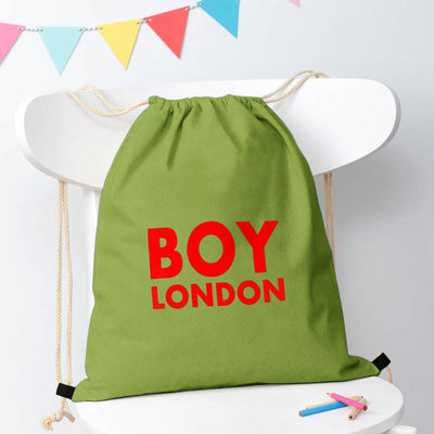 Polo Republica London Boy Drawstring Bag Drawstring Bag Polo Republica Pickle Red