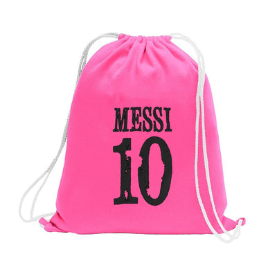 Polo Republica Messi Lovers Drawstring Bag Drawstring Bag Polo Republica Pink Black