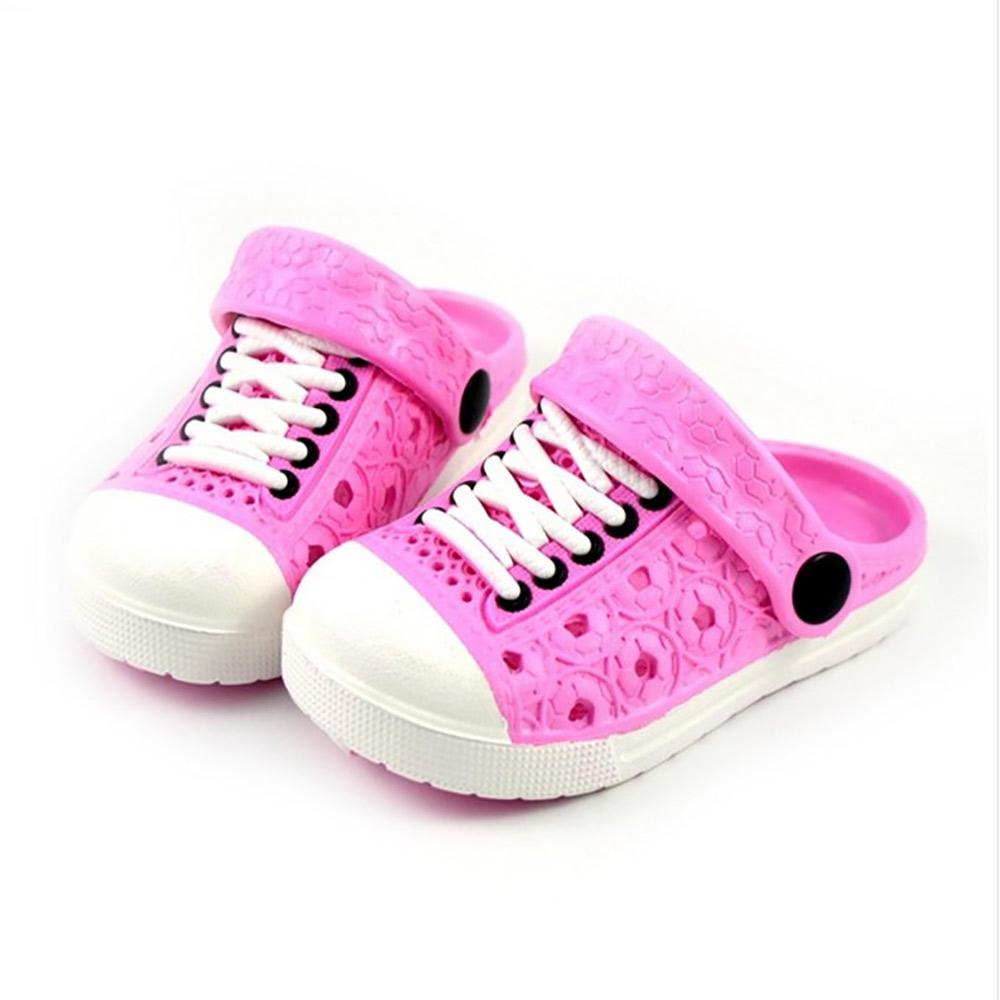 24add19ca7ad5 Kids Lace UP Style Beach Slippers Cum Sandals Boy s Shoes Sunshine China  Pink EUR 24