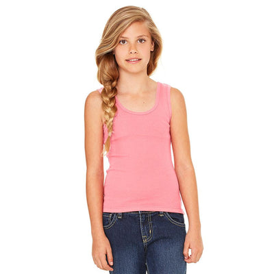 Ryazan Power Flex Girl's Tank Top Women's Tee Shirt MHJ Pink 12-16 Years