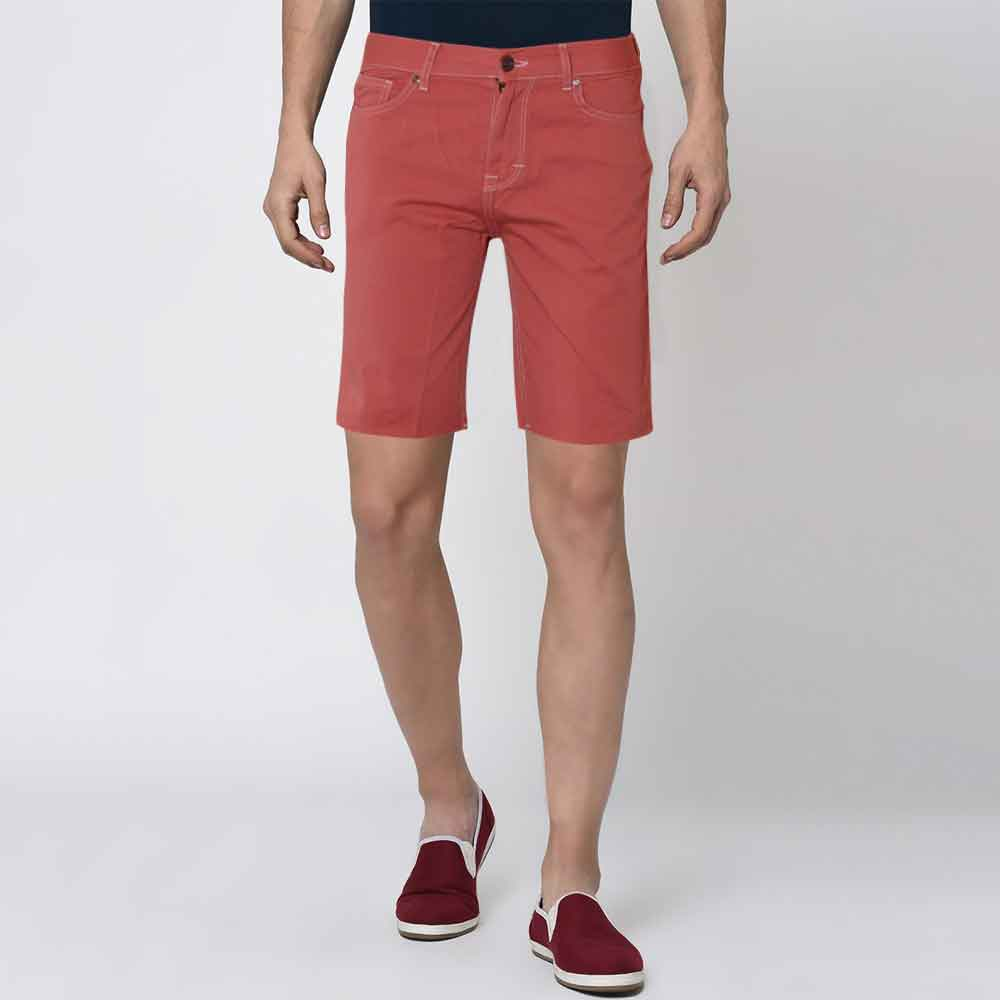 LCR Men's Manicore Cut Off Denim Shorts Men's Shorts SRK Pink 26 19