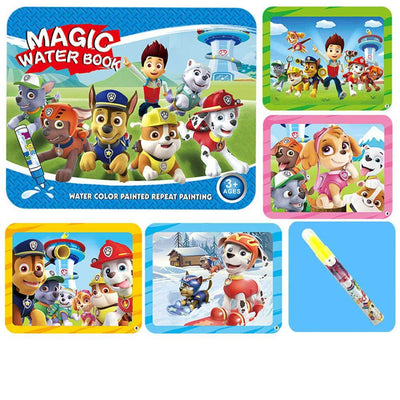 Kid's Magic Water Drawing Book Toy Sunshine China Puppies