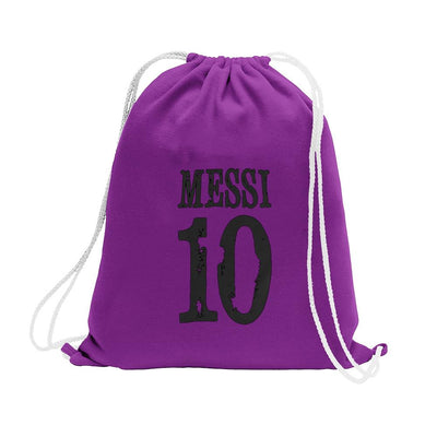 Polo Republica Messi Lovers Drawstring Bag Drawstring Bag Polo Republica Purple Black