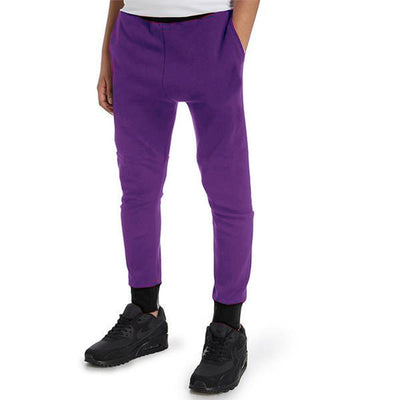 Polo Republica Kids Hoobsita Classic Sweat Pants Boy's Sweat Pants Polo Republica Purple Black 4 Years