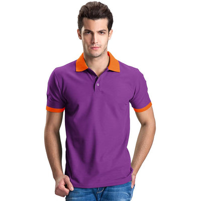Polo Republica Abrud Polo Shirt Men's Polo Shirt Polo Republica Purple Orange S