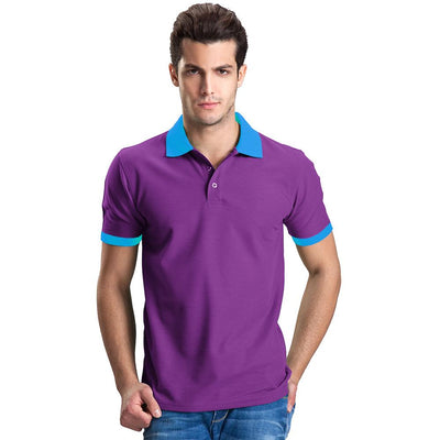 Polo Republica Abrud Polo Shirt Men's Polo Shirt Polo Republica Purple Sky S