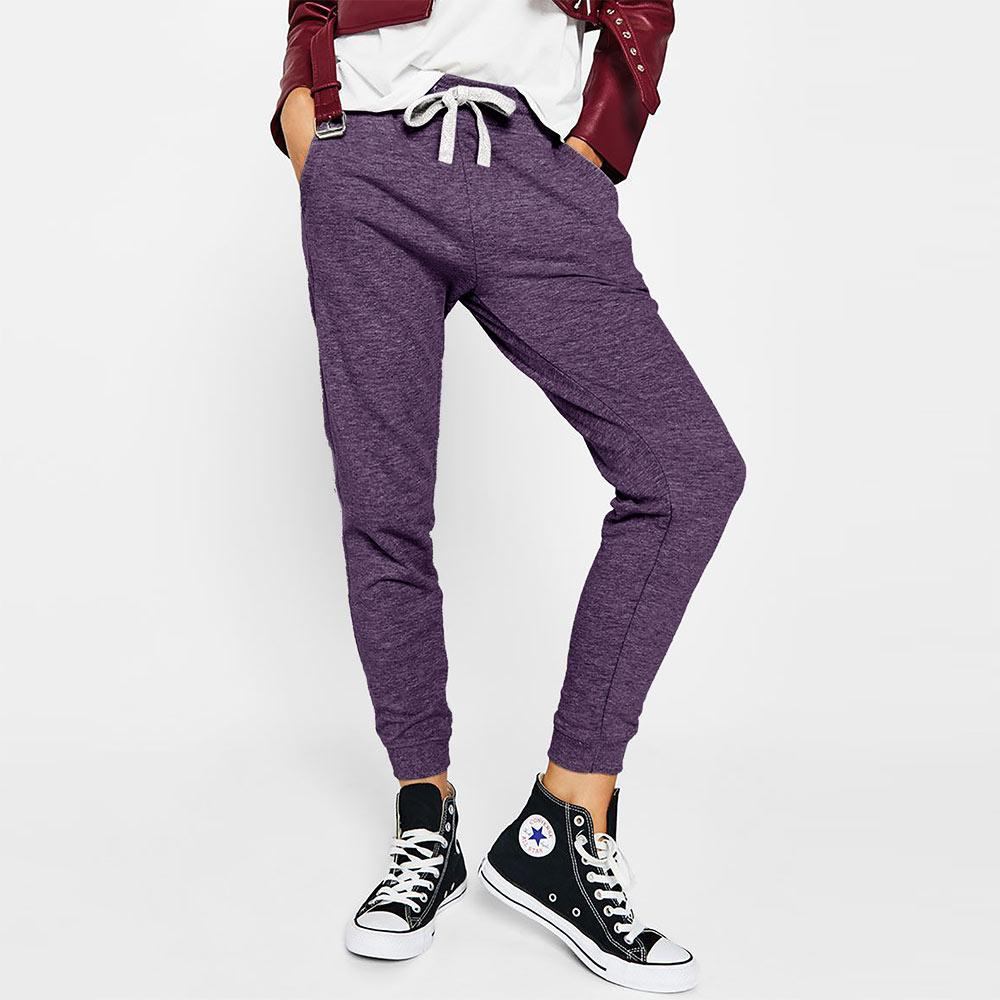 BRHK Bsk Girl Toride Terry Jogger Pants Women's Trousers Fiza Purple XS
