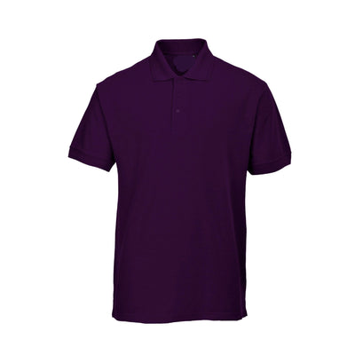 PRT Vonboni Short Sleeve Polo Shirt Men's Polo Shirt Image Purple L