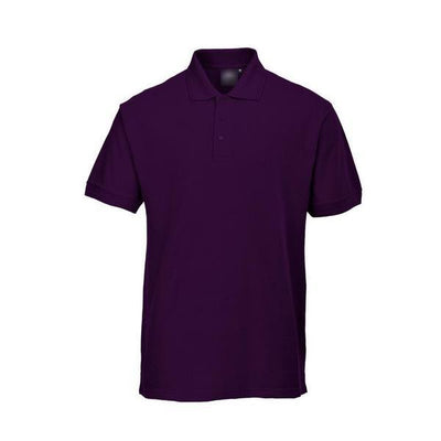PTW Trend Short Sleeve B Quality Polo Shirt B Quality Image Purple L