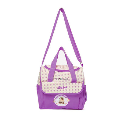 Super Light Love Forever Supporter Mother Messenger Bag Women's Accessories MB Traders Purple