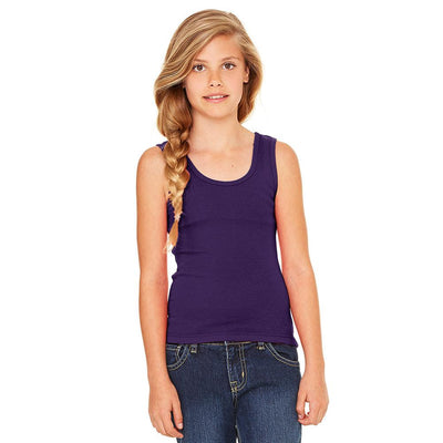Ryazan Power Flex Girl's Tank Top Women's Tee Shirt MHJ Purple 12-16 Years
