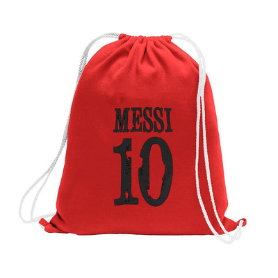 Polo Republica Messi Lovers Drawstring Bag Drawstring Bag Polo Republica Red Black