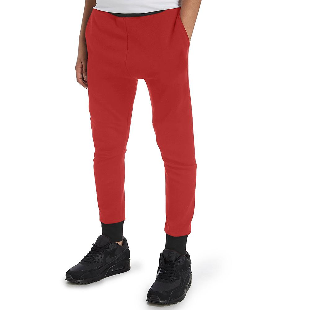 Polo Republica Kids Dosber Classic Sweat Pants Boy's Sweat Pants Polo Republica Red Black 4 Years
