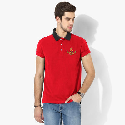 Polo Republica Selangor Polo Shirt Men's Polo Shirt Polo Republica Red Black S