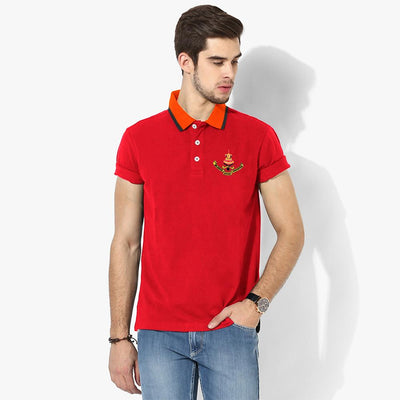 Polo Republica Selangor Polo Shirt Men's Polo Shirt Polo Republica Red Orange S