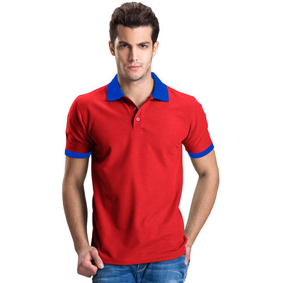 Polo Republica Abrud Polo Shirt Men's Polo Shirt Polo Republica Red Royal S