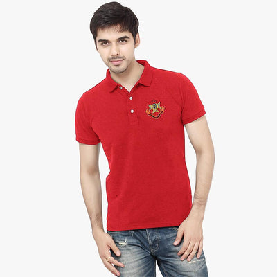 Polo Republica Men EST Crown 1985 League Polo Shirt Men's Polo Shirt Polo Republica Red S