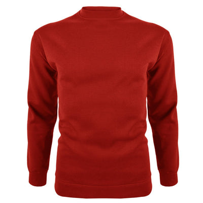 DCK Soontex Crew Neck Sweat Shirt Men's Sweat Shirt Image Red L
