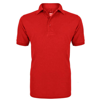 RGT Hobs Delton B Quality Polo Shirt B Quality Image Red L