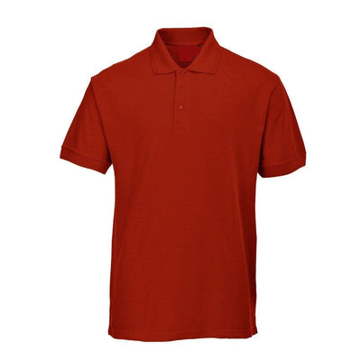 PRT Vonboni Short Sleeve Polo Shirt Men's Polo Shirt Image Red L