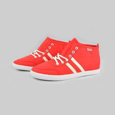 RNB Focsani Women's Canvas Sneakers Women's Shoes Sunshine China Red White EUR 35