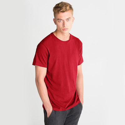 LE Bokrid Short Sleeve B Quality Tee Shirt B Quality Image Red L