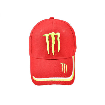 MB Monster Signature Embro P Cap Headwear MB Traders Red