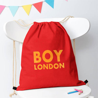 Polo Republica London Boy Drawstring Bag Drawstring Bag Polo Republica Red Yellow