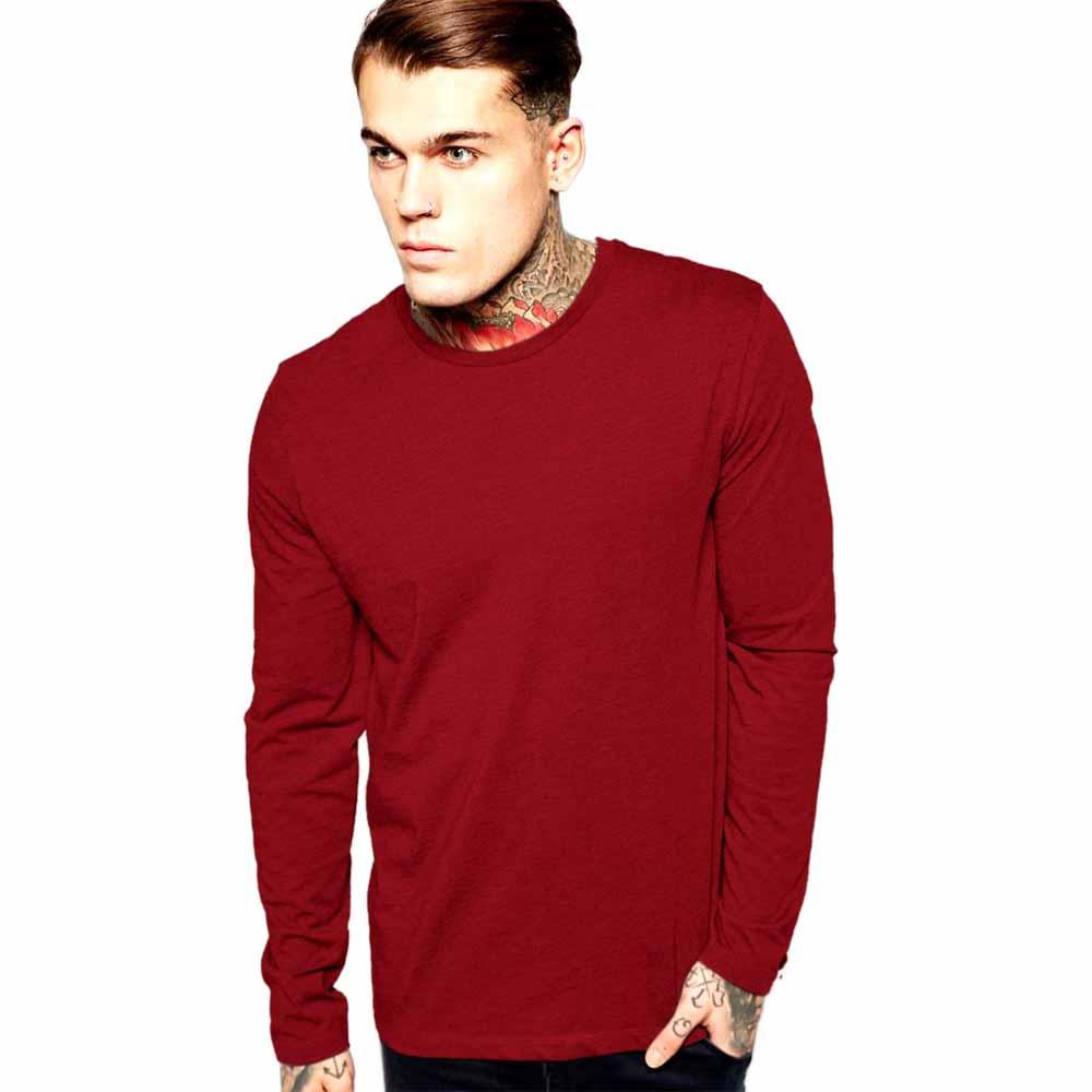 LE Gombzo Klobe long Sleeve Tee Shirt Men's Tee Shirt Image Red S