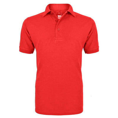 RGT Hobs Delton B Quality Polo Shirt B Quality Image Rose Red L