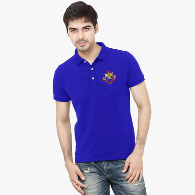 Polo Republica Men EST Crown 1985 League Polo Shirt Men's Polo Shirt Polo Republica Royal S