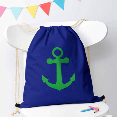 Polo Republica Ship Langar Drawstring Bag Drawstring Bag Polo Republica Royal Green