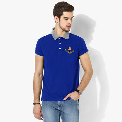 Polo Republica Selangor Polo Shirt Men's Polo Shirt Polo Republica Royal Silver Marl S