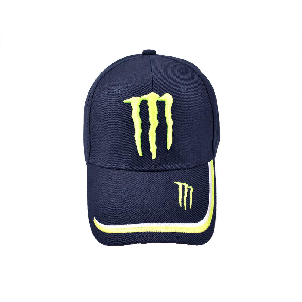 MB Monster Signature Embro P Cap Headwear MB Traders Navy