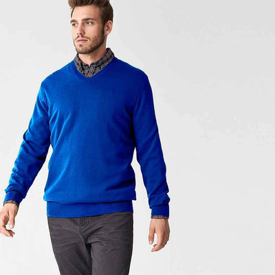 Polo Republica Nobitu V-Neck Sweat Shirt. Men's Sweat Shirt Polo Republica Royal L