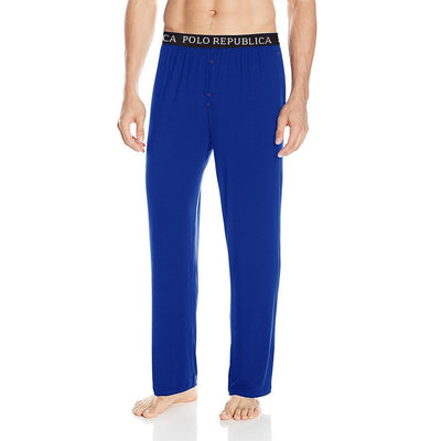Polo Republica Vodice Casual Lounge Pants Men's Sleep Wear Polo Republica Royal S
