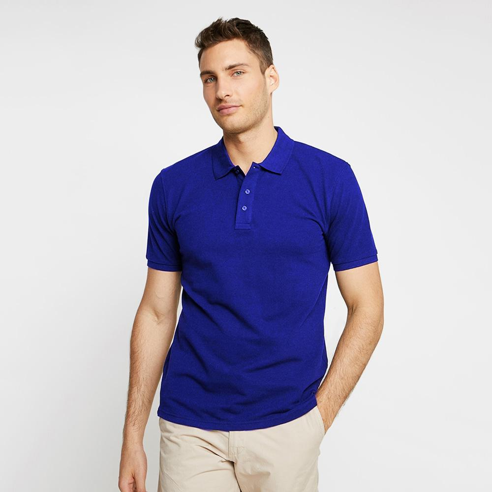 EGL Bacton Short Sleeve Polo Shirt Men's Polo Shirt Image Royal 4XL