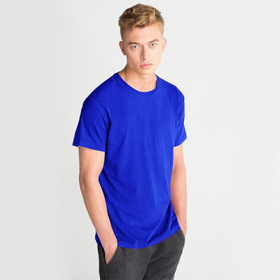 LE Foldpal Short Sleeve Tee Shirt Men's Tee Shirt Image Royal M