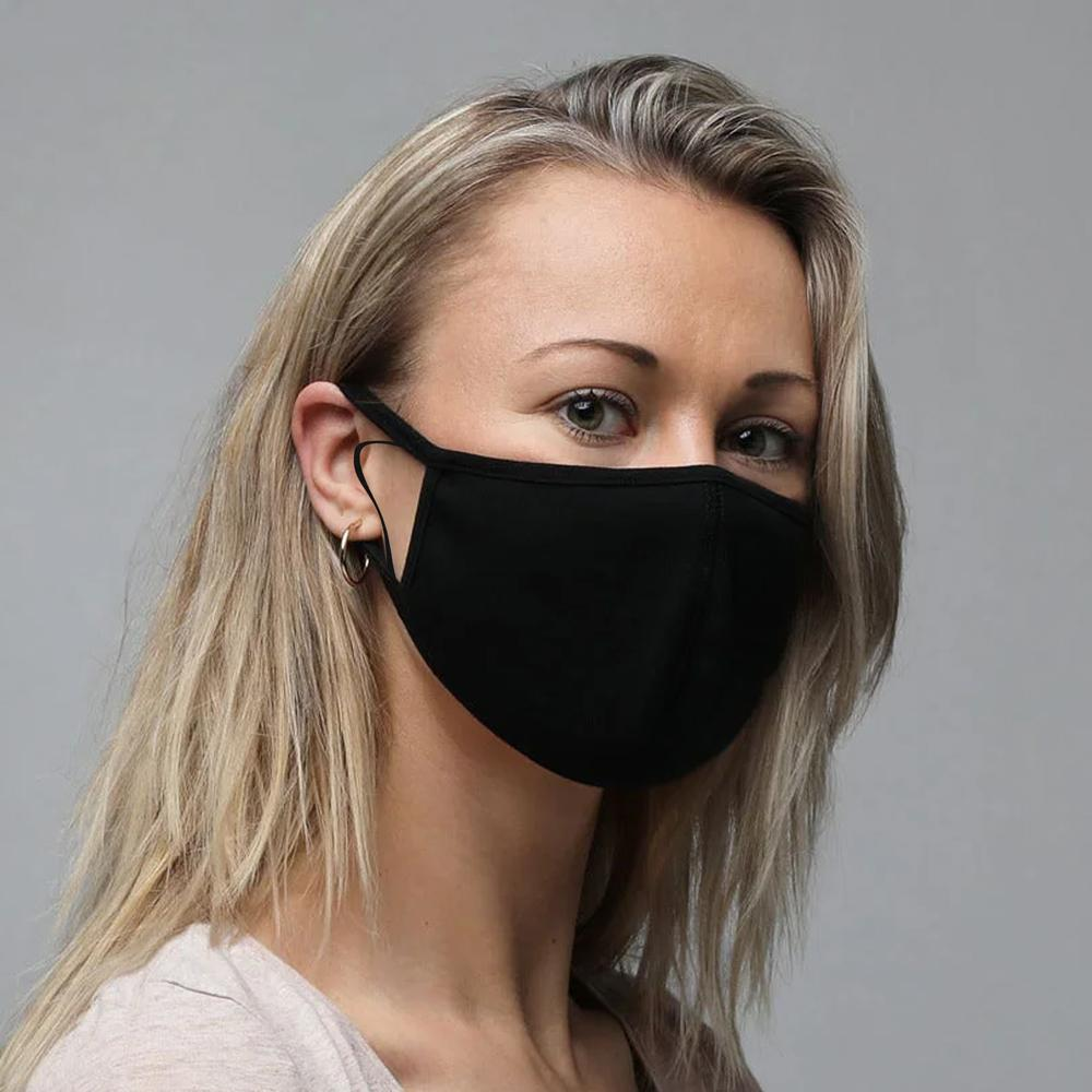 Anti-Dust Double Layered Washable Fabric Minor Fault Self Protection Mask Minor Fault Image