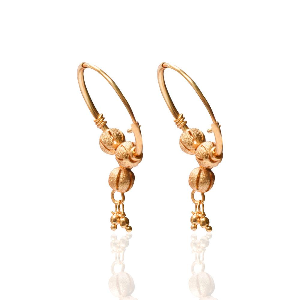 Artificial Designing Plated Gold Earring Jewellery CPUQ