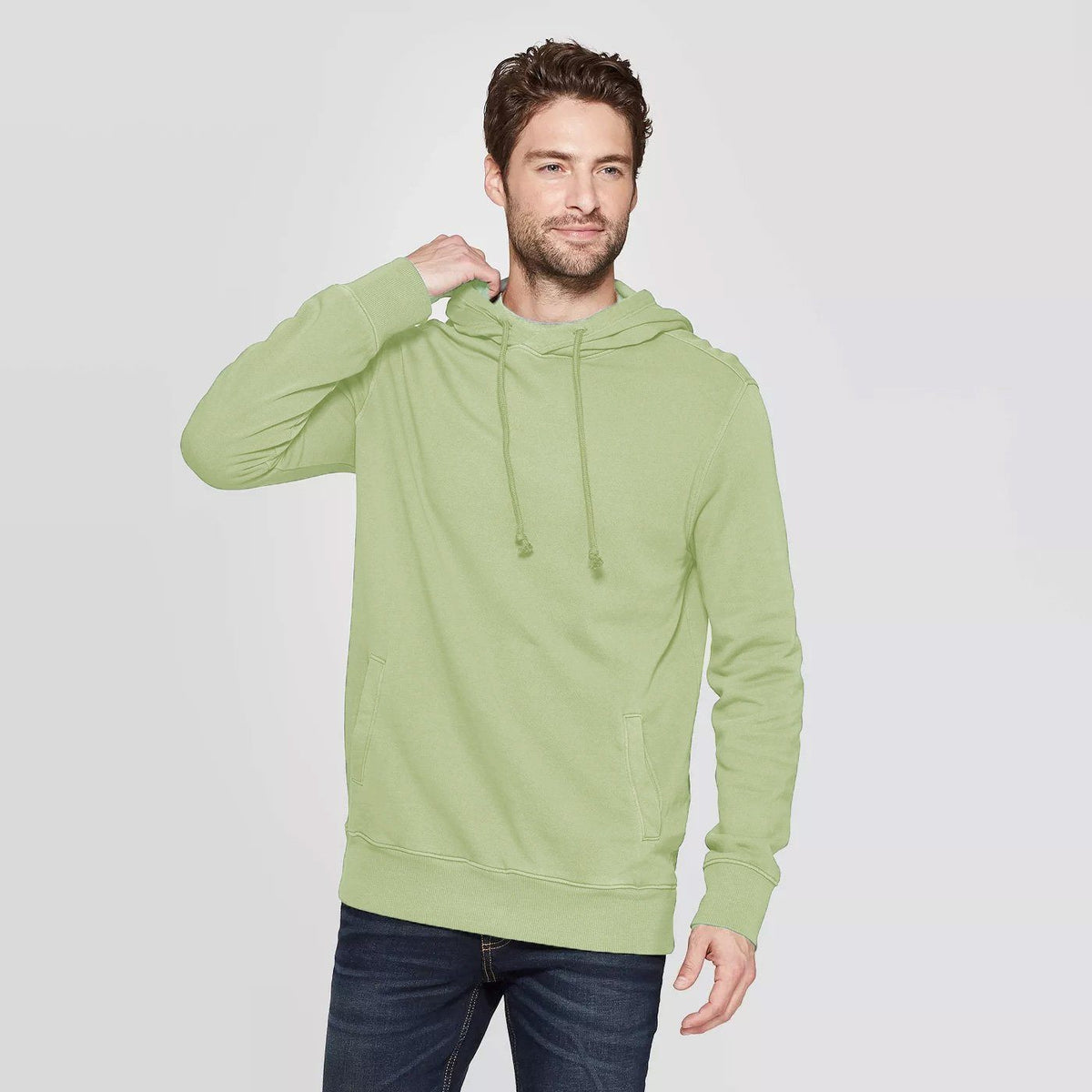CR Men's 10-16A20 Terry Pullover Hoodie Men's Pullover Hoodie SRK Sea Green XS