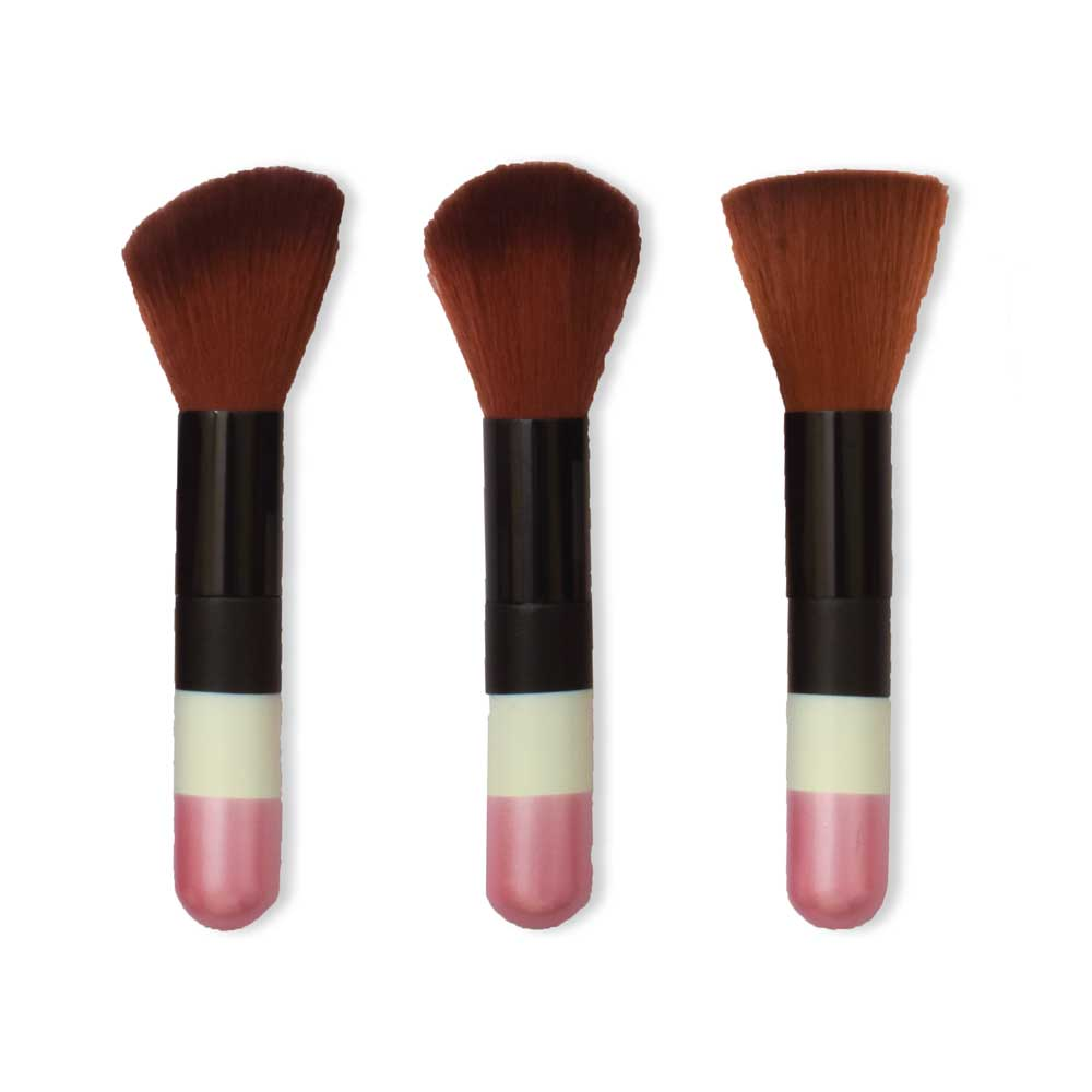 Fashion Malian Women's Blush On Makeup Brushes Pack of 3 Health & Beauty ALN
