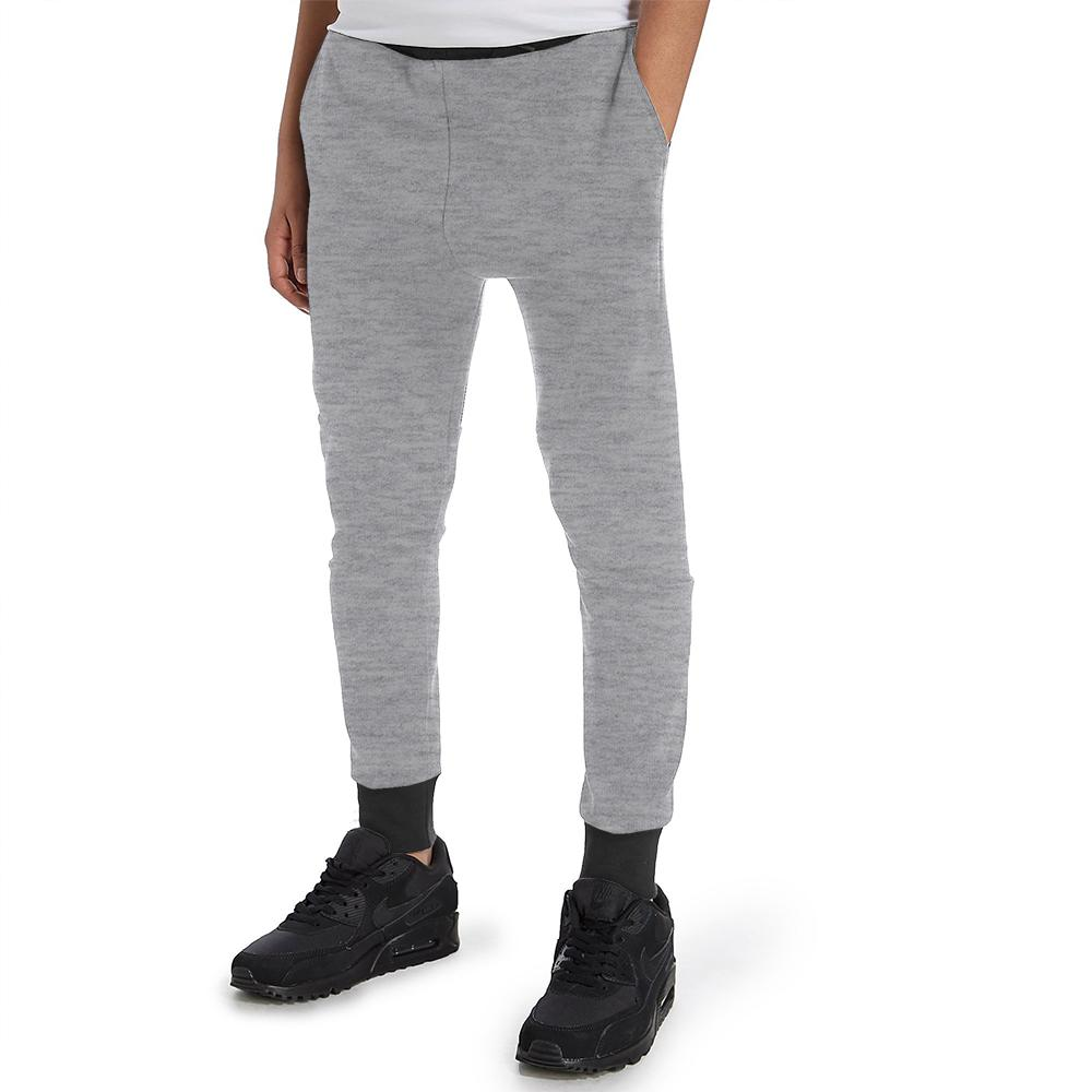 Polo Republica Kids Dosber Classic Sweat Pants Boy's Sweat Pants Polo Republica Silver Marl Black 2 Years