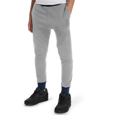 Polo Republica Tagawa Kids Sweat Pants Boy's Sweat Pants Polo Republica Heather Grey Navy 2 Years