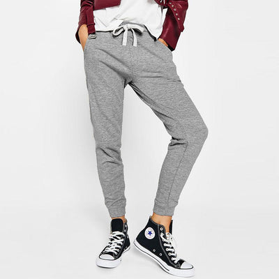 BRHK Bsk Girl Toride Terry Jogger Pants Women's Trousers Fiza Silver Marl XS