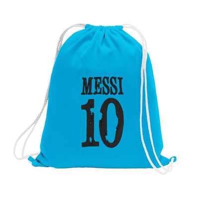 Polo Republica Messi Lovers Drawstring Bag Drawstring Bag Polo Republica Sky Blue Black