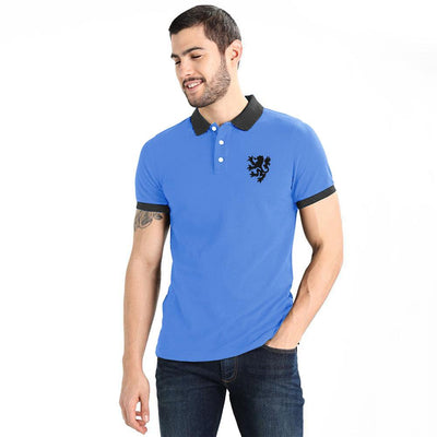 Polo Republica Reutov Polo Shirt Men's Polo Shirt Polo Republica Sky Blue Black S