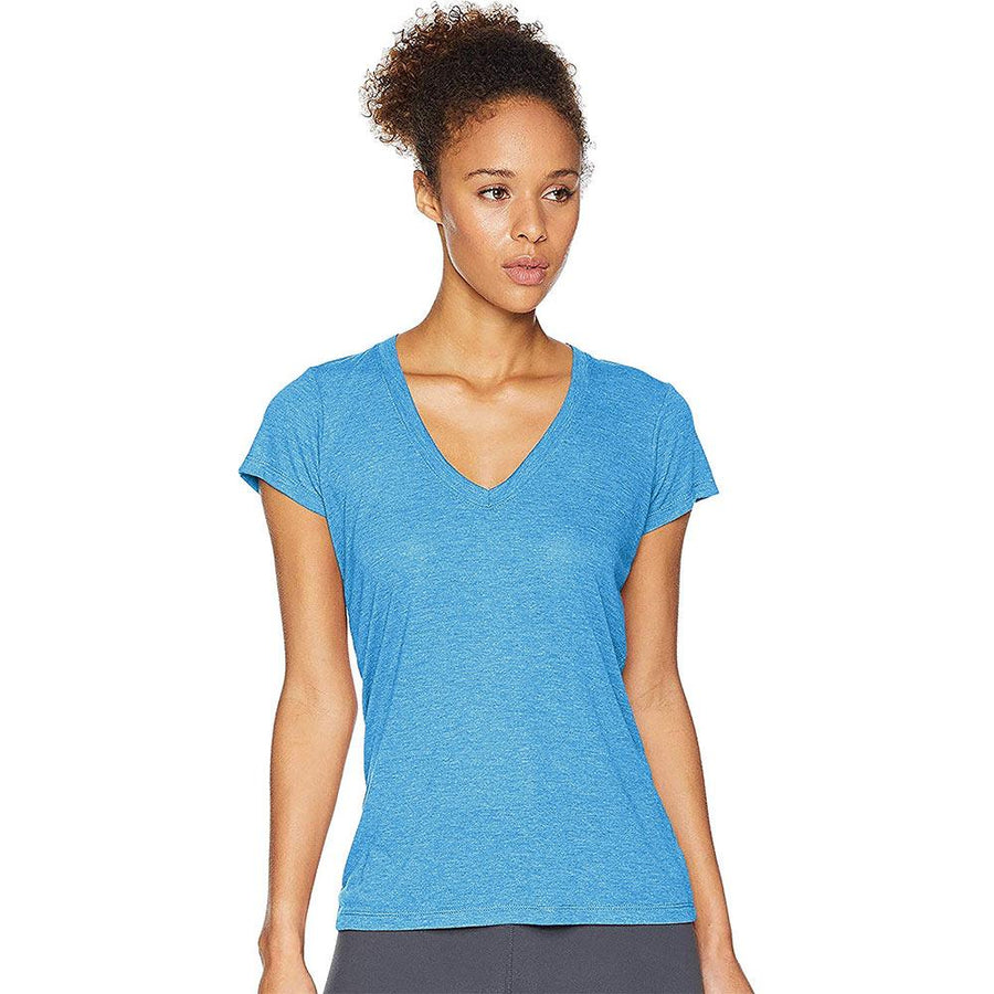 MZ Quick-drying V Neck Yoga Tee Shirt