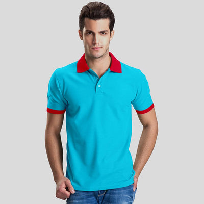 Polo Republica Abrud Polo Shirt Men's Polo Shirt Polo Republica Sky Red S