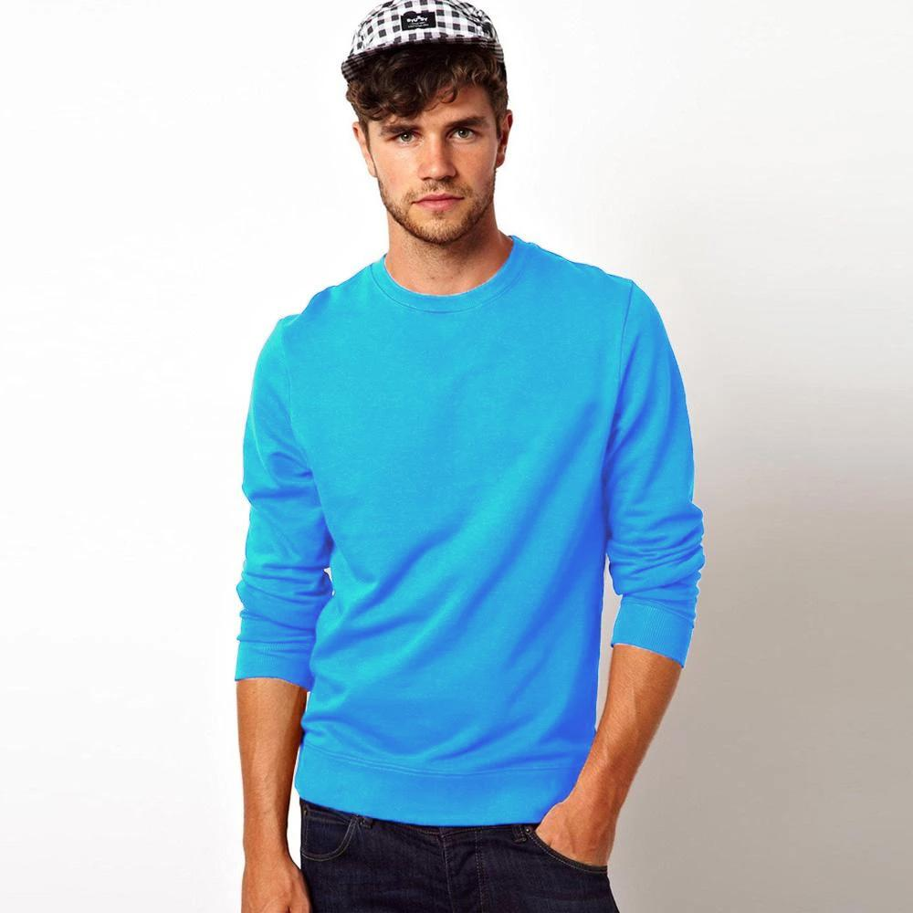 Kitrose Sweat Shirt Men's Sweat Shirt Image Sky XS